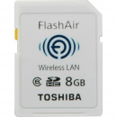 Toshiba SD Memory Card 8GB Class10 Wireless Fla