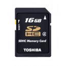 Toshiba SDHC  Memory Card 16GB Class 4