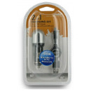 GSM Micro USB Charger Kit 2in1 4World