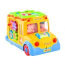Bus avec un jouet de livre