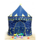 Foldable Castle Tent For Kids Blue
