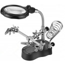 Third Hand Magnifying Glass