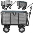 Bollerwagen Gartenwagen Handwagen mit Innenverklei