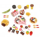 Holzkiste + Süßigkeiten Klettverschluss zum Hacken