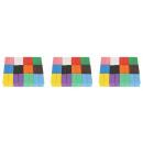 Wooden Dominoes Puzzle Colorful Blocks 407 el 9357