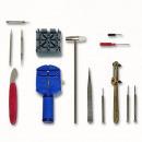 Großhandel Zubehör & Ersatzteile: Uhrenwerkzeugset 14-teilig