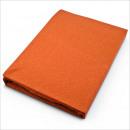 Großhandel Bettwäsche & Matratzen: Jersey  Spannbettlaken 90 x 200 cm Terracotta