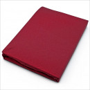Großhandel Bettwäsche & Matratzen: Jersey  Spannbettlaken 140 x 200 cm Bordeaux