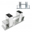 Großhandel Kaminöfen: Holzstapelhilfe Kaminholz 2er Pack