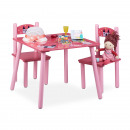 Großhandel Kindermöbel: Kindersitzgruppe  FUNNY Prinzessin-Motiv