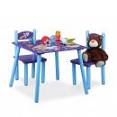 Großhandel Kindermöbel: Kindersitzgruppe FUNNY Weltraum-Motiv