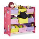 Großhandel Kindermöbel: Kinderregal FUNNY mit Prinzessin-Motiv