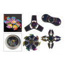 Palec spinner anty stres, 3 minuty Rainbow