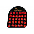 wholesale Magnets: Magnetic motif Ladybug, made of plastic, (36 pcs