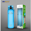 Superior sports bottle bpa free blue 1000ml