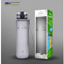 Superior sports bottle bpa free gray 350ml