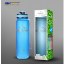 Sports bottle shaker bpa free blue 550ml