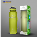 Shaker bpa free green 1000ml sports bottle