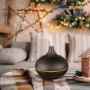 300ml Ultrasonic Humidifier - Dark Wood