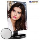 Makeup mirror light 24 led dimmer 1X, 10X - black
