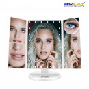 24 led makeup mirror 1X, 2X, 3X, 10X, white