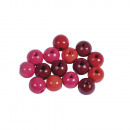 Wood bead mixture, FSC 100%, 8mm ø, classic cr