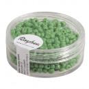 Kulki nasion, 2, 6 mm ø, nieprzezroczyste, zielone