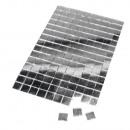 Lustrzana mozaika, bez fugowania, srebro, 150 szt