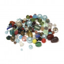 Glasperlen, gemischt, 75 g