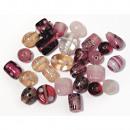 Perle di gioielli, rosa, 40 g