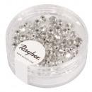 groothandel Stationery & Gifts: Glas geslepen parel, 4mm ø, briljant zilver, ...