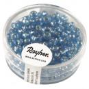 Großhandel Geschenkartikel & Papeterie: Rocailles +m.Silbereinzug Rainbow, ø 4 mm, ...