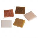 Piedras de mosaico, natural, 1 Kg