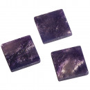 wholesale Artificial Flowers: Acrylic mosaic, marbled, purple velvet, 50 g