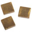 groothandel Stationery & Gifts: Acrylmozaïek 1x1 cm metaal, briljant goud, 50 g