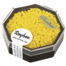 Premium Seed Beads, 2, 2 mm ø, golden yellow, 8 g
