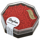 Premium Seed Beads, 2, 2 mm ø, fire red, 8 g
