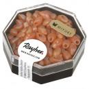 Perle Magatama, oblunghe, capriorange, 9 g