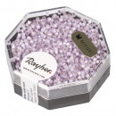 grossiste Boîtes et presentoirs bijoux: Perles de rocaille Delica, 1, 6mm ø, violet clair,