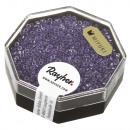mayorista Joyeros - cajas y expositores joyas y bisutería: Granos de semillas de Delica, 1, 6 mm ø, púrpura,