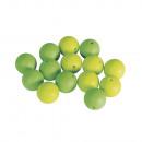 Siliconen kralen, 15 mm ø, groenblijvend, 14 stuks