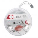 Bastelpackung: lánc m. vágott tollak Lola,