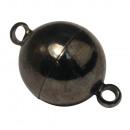 Magnetische sluiting, extra sterk, 12 mm ø, antrac