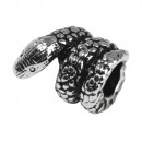 Elemento decorativo de metal: serpiente, 12 mm ø,