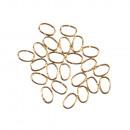 ingrosso Gioielli & Orologi: Anelli, ovali, ø 0,8 mm, oro, 22 pezzi