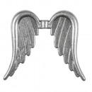 Metalen engelenvleugels, zilver, 1 stuk