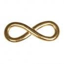 Fémelem Infinity, arany,