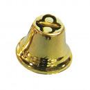 groothandel Woondecoratie: Metalen bellen, goud, 10 stuks