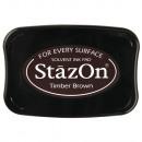 Stamp pad StazOn, dark brown,