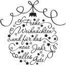 Stamp merry christmas,
